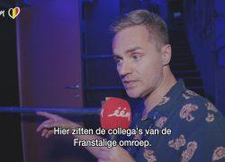 Julie Van den Steen neemt afscheid van Peter Van de Veire